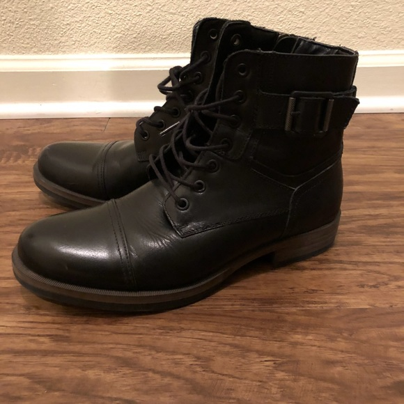 Men\u2019s military style boots